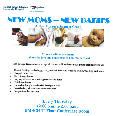 FREE -   New Moms - New Babies: A New Mother's Support Group