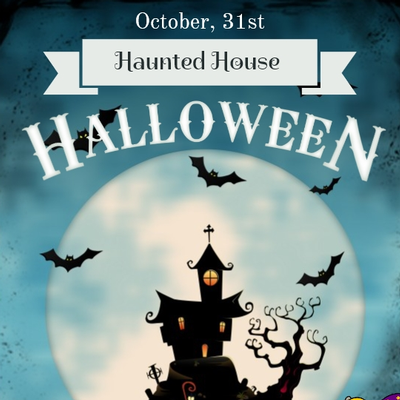 Haunted House Halloween - October 31st - FREE
