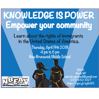 Knowledge is Power:  Learn about Immigration Rights in the USA