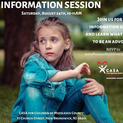 Volunteer Opportunity: CASA of Middlesex County - Become an