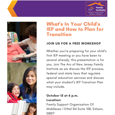 What's In Your Child's IEP and How to Plan for Transition