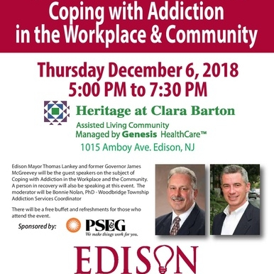 Coping with Addiction in the Workplace and the Community with Former Governor James McGreevey
