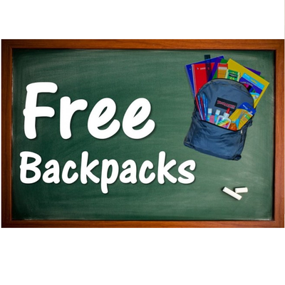Back To School Fair Free Bookbag Giveaway