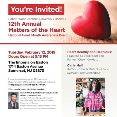 12th Annual Matters of the Heart