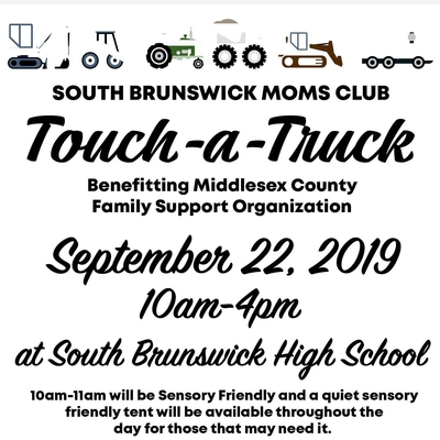 Touch-a-Truck - South Brunswick Mom's Club
